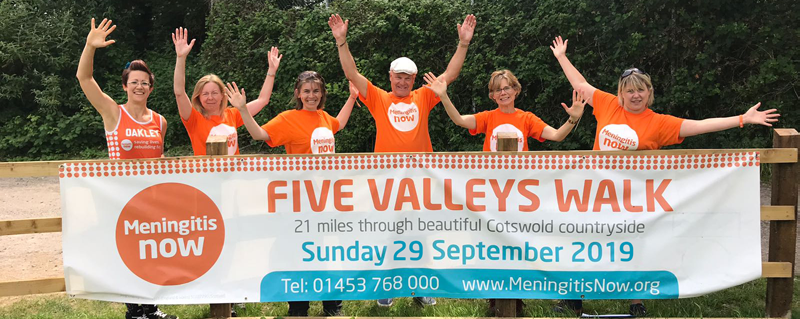 Five Valleys Meningitis Walk for Charity